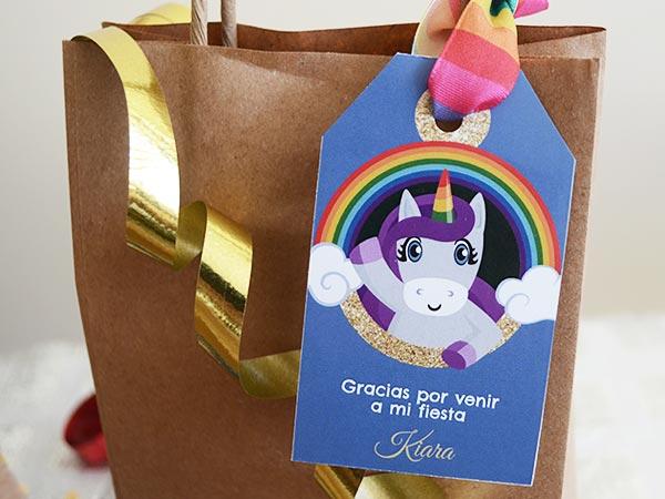 Set De Invitaciones De Fiesta De Unicornios Para Descargar