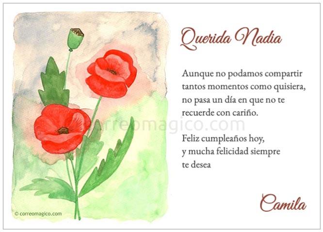 Tarjeta Para Imprimir De Cumpleaños Felicidad Hoy Y Siempre