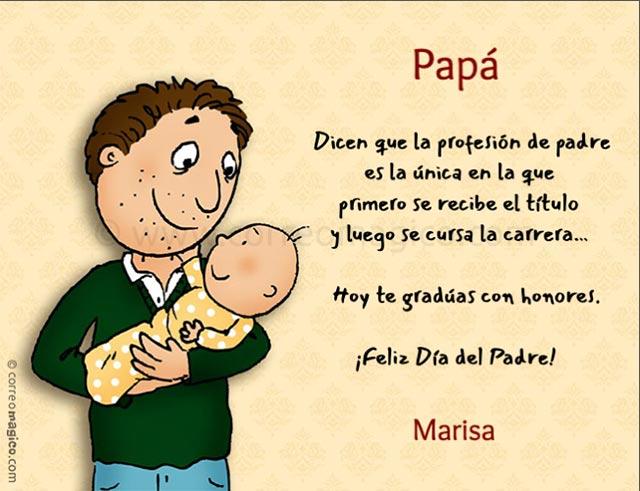 Tarjetas De Para Imprimir Gratis De Dia Del Padre En Casa O