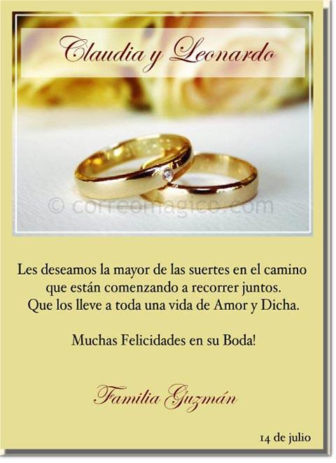 tarjeta para imprimir de felicitaciones  feliz boda