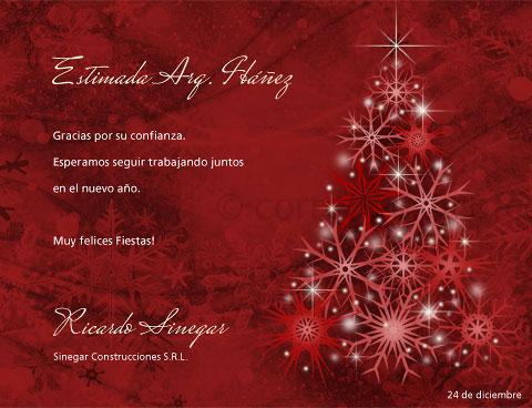 Navidad arbolcopos tarjetas para imprimir gratis en tu - Mensajes navidenos para empresas ...
