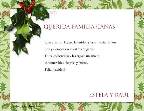 Tarjetas de Navidad para imprimir gratis, en casa o el trabajo con ...