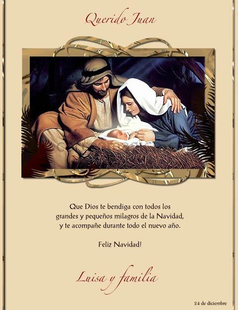 Imagenes Sagrada Familia Navidad.Tarjeta Para Imprimir De Navidad La Sagrada Familia