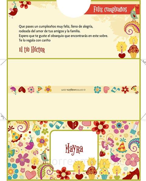 Sobres para regalo para imprimir gratis imagui for In regalo gratis