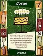 Tarjeta de Cumpleaños para imprimir. A brindar