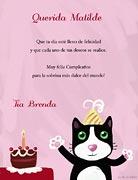 Tarjeta de Cumpleaños para imprimir. Felicidades