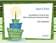 Tarjeta de Cumpleaños para imprimir. Feliz cumpleaños