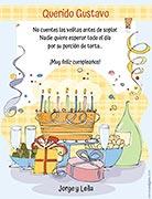 Tarjeta de Cumpleaños para imprimir. Mesa de cumpleaños