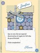 Tarjeta de Cumpleaños para imprimir. Para ti