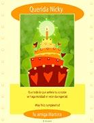 Tarjeta de Cumpleaños para imprimir. Diversión