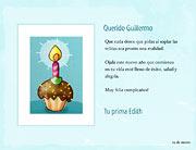 Tarjeta de Cumpleaños para imprimir. Feliz día