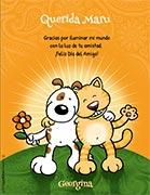 Tarjeta de Día del amigo personalizable. Iluminas mi mundo,