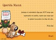 Tarjetas de Dia de las Madres para imprimir. Todos los días son tuyos