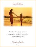 Tarjetas de Dia de las Madres para imprimir. Que Dios te guie