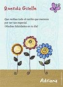 Tarjetas de Dia de las Madres para imprimir. Jardín