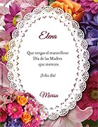 Tarjetas de Dia de las Madres para imprimir. Mereces un maravilloso día