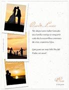 Tarjetas para imprimir de Dia del Padre. De parte de tu mujer