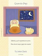 Tarjetas de Dia del Padre para imprimir. De parte de tu bebé