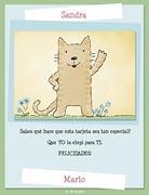 Tarjetas de navidad para imprimir. Una tarjeta especial...