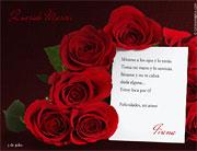 Tarjetas de amor para imprimir. Locura de amor