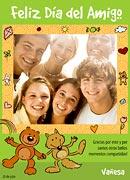 Tarjeta de Día del amigo personalizable. Un recuerdo compartido,
