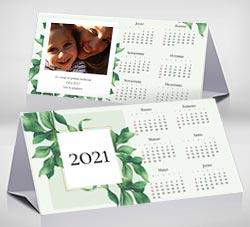Calendarios 2021 para imprimir. Calendario de escritorio 2021. Hojas