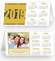 Calendarios 2019 para imprimir. Almanaque 2019