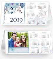 Calendarios 2019 para imprimir. Almanaque 2019 - Acuarela