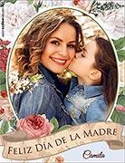 Tarjeta de Día de las Madres personalizable. Feliz Día de la Madre,
