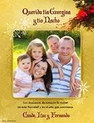 Tarjetas de navidad para imprimir. Saludos navideños