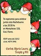 Tarjetas De Navidad Personalizables Para Imprimir O