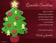 Tarjetas de navidad para imprimir. Buenos deseos