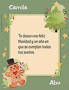 Tarjetas de Navidad para imprimir. Feliz Navidad