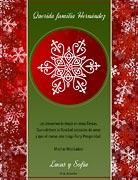 Tarjetas de navidad para imprimir. Copos de nieve