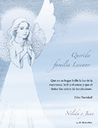Tarjetas de navidad para imprimir. Angel