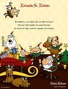 Tarjetas de navidad para imprimir. De parte de todos nosotros