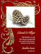 Tarjetas empresariales de navidad para imprimir. Navidad