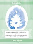 Tarjetas de navidad para imprimir. Pino