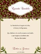 Tarjetas de navidad para imprimir. Muérdago blanco
