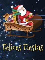 Tarjetas de Navidad para imprimir. Felices Fiestas