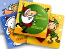 Tarjetitas para tus regalos. Alegre Navidad