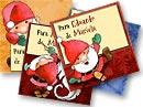 Tarjetitas para tus regalos. Santa Claus