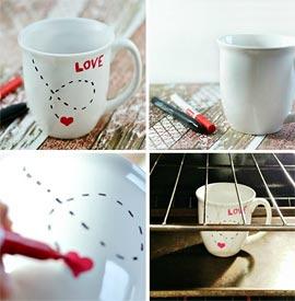 Tazas  San Valentin